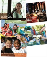 Camp Discovery Bible Memory Posters, set of 5