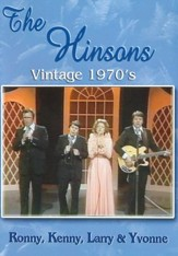 The Hinsons Vintage 1970's DVD