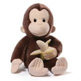 Plush Curious George With Banana, 75th Anniversary Edition
