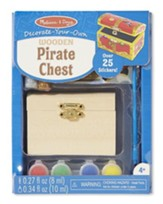 Treasure Chest, Decorate Your Own