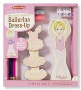 Magnetic Ballerina Dress-Up, Decorate Your Own