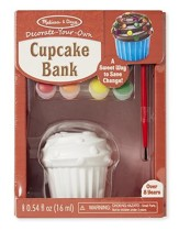 Cupcake Bank, Decorate Your Own