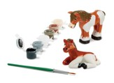 Decorate Your Own, Horses Figurines