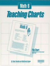 BJU Math 6, Teaching Charts Flip Chart