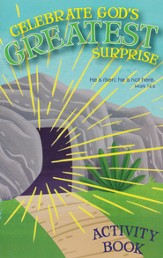 Celebrate God's Greatest Surprise Activity Book
