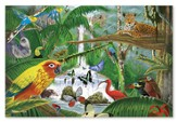 Rain Forest Majesty Floor Puzzle, 48 Pieces