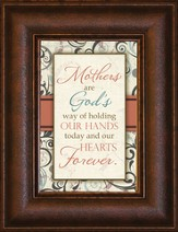 Mother's Are Gods Way Mini Framed Print