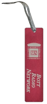 Bott Radio Network Bookmark, Red