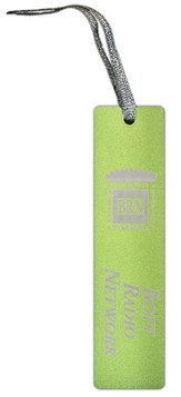 Bott Radio Network Bookmark, Green