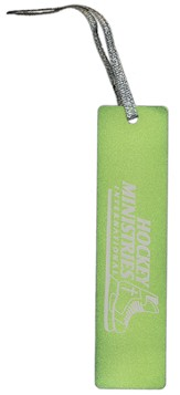 Hockey Ministries International Bookmark, Green