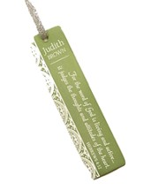 Personalized, Word of God Bookmark, Green