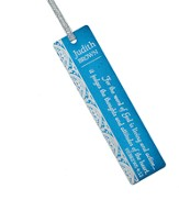Personalized, Word of God Aluminum Bookmark, Blue