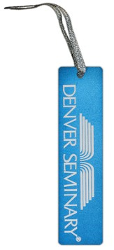 Denver Seminary Bookmark, Blue