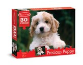 Precious Puppy Jigsaw Puzzle, 30 Pieces