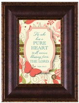 Pure Heart Framed Art