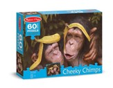Cheeky Chimps Jigsaw Puzzle, 60 Pieces