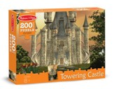 Towering Castle Jigsaw Puzzle, 200 Pieces