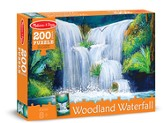 Woodland Waterfall Jigsaw Puzzle, 200 Pieces