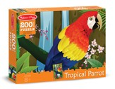 Tropical Parrot Jigsaw Puzzle, 200 Pieces