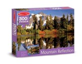 Mountain Reflection Jigsaw Puzzle, 300 Pieces
