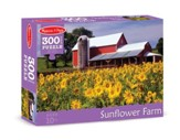 Sunflower Farm Jigsaw Puzzle, 300 Pieces