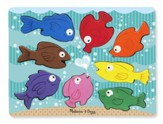 Colorful Fish Chunky Puzzle, 20 pieces