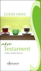 Good News New Testament - Stonecroft Edition  - Slightly Imperfect