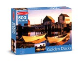 Golden Docks Jigsaw Puzzle, 500 Pieces