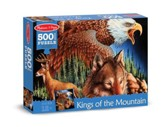 King of the Mountain Jigsaw Puzzle, 500 Pieces