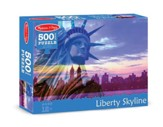 Liberty Skyline Jigsaw Puzzle, 500 Pieces