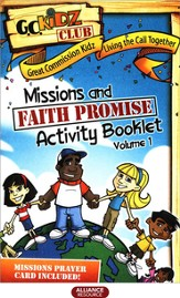 Faith Promise Missions and Activity Booklet, Volume 1