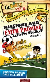 Faith Promise Missions and Activity Booklet, Volume 3