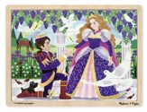Prince and Princess Jigsaw Puzzle, 24 Pieces
