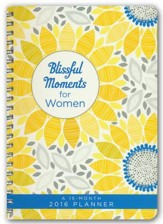 2016 Engagement Planner - Blissful Moments for Women
