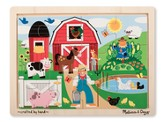 Farm Fun Jigsaw Puzzle, 12 Pieces
