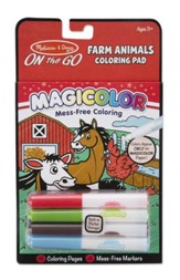 Farm Animals Coloring Pad