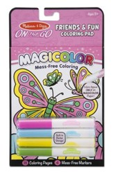 Friendship and Fun Coloring Pad