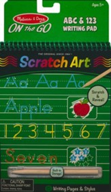 Writing Activity Book, ABC and 123