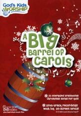 A Big Barrel of Carols, DVD