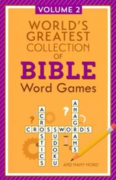 World's Greatest Collection of Bible Word Games - Volume 2