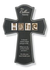Personalized Wall Cross, Home