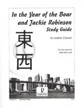 In the Year of the Boar & Jackie Robinson Progeny Press Study Guide