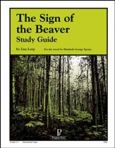 The Sign of the Beaver Progeny Press Study Guide