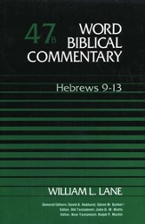Hebrews 9-13: Word Biblical Commentary [WBC]