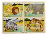 4-In-1 Safari Puzzle
