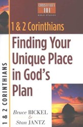1 & 2 Corinthians: Finding Your Unique Place in God's  Plan, Christianity 101 Bible Studies