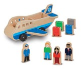 Wooden Airplane Set, 9 Piece