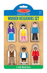 Neighbors Set, 6 Pieces