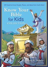 Know Your Bible for Kids Collection