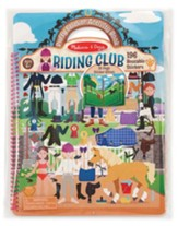 Deluxe Puffy Sticker Album, Horse Scenes